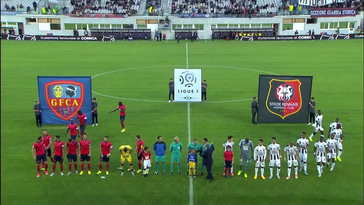 J07 - 1516 - Ajaccio/SRFC : Le résumé vidéo